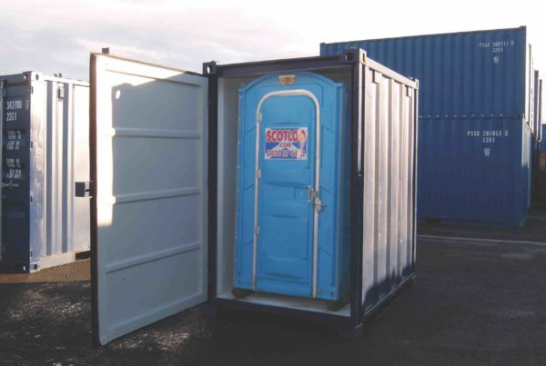 Containerised Toilet