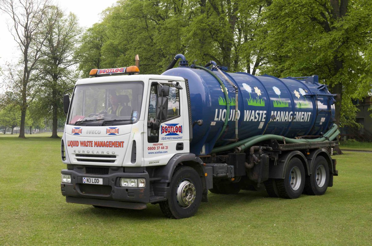 Liquid Waste Management truck