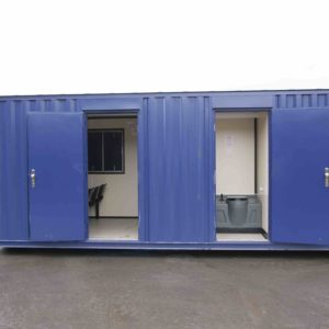 Welfare Cabin with toilet