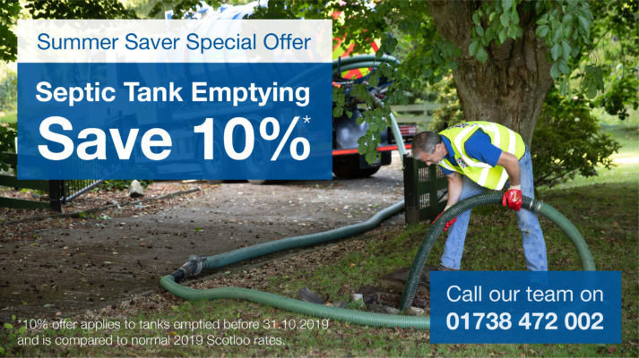 Septic Tank emptying Summer special offer